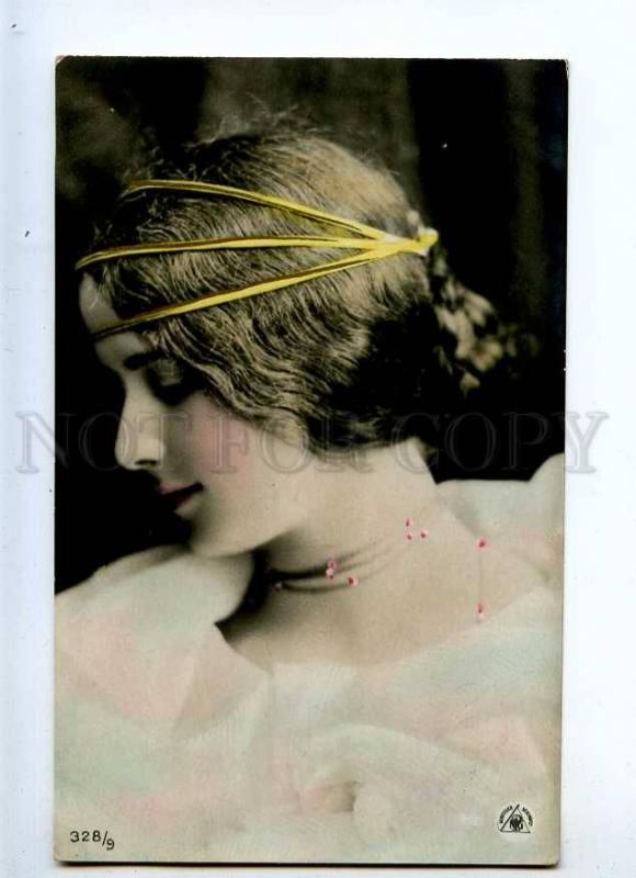233780 CLEO DE MERODE French BALLET Dancer PHOTO tinted OLD