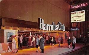 Reno Nevada~Harrahs Club~Suits & Dresses 1950s Postcard