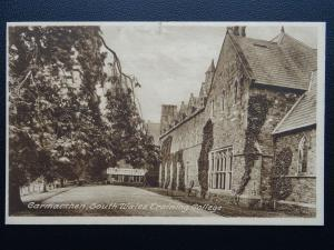Wales Carmarthen SOUTH WALES TRAINING COLLEGE - Old Postcard by D.Williams