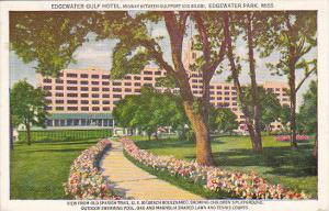 Mississippi Edgewater Park Edgewater Gulf Hotel 1948