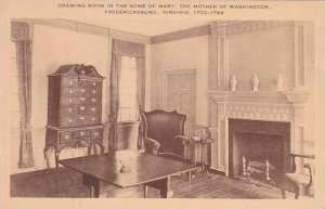 Virginia Fredericksburg Drawing Room In Mary Washingtons Home Artvue