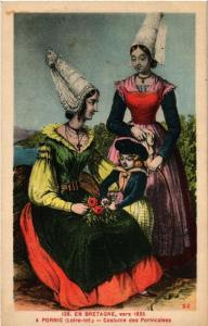 CPA PORNIC Costume des PORNICalses (610916)