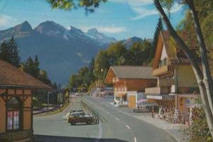 Brunigpass Schwarzhorn Hotel Postcard