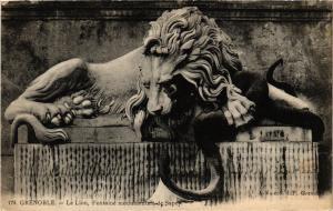 CPA GRENOBLE - Le Lion Fontaine Mon.ale de Sappey (655200)