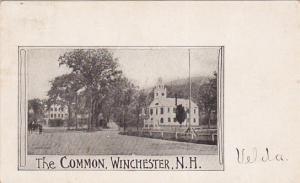 WINCHESTER, New Hampshire, PU-1905; The Common