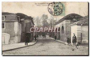 Toul - Porte de France - Old Postcard