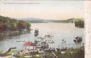 New Hampshire Lake Sunapee At Sunapee Harbor 1906