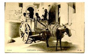 Colombia - Cartagena. Transport Cart