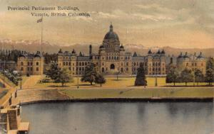 Canada Provincial Parliament Buildings Victoria British Columbia Postcard