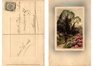 CPA In der Freien Natur Meissner & Buch Litho Serie 1526 (730584)