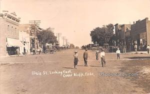 Main Street Cedar Bluffs NE Unused
