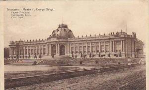 Belgium Tervuren Musee du Congo Belge Facade Principale 1925