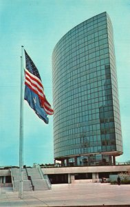 Vintage Postcard Phoenix Mutual Life Insurance Company Elliptical Hartford CT