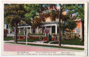 The Lantern Inn, Rocky Mt. NC
