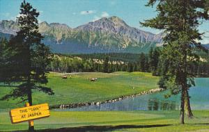 Canada 16th Hole Jasper Park Lodge Golf Course Alberta