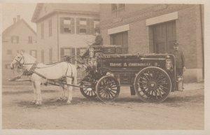 RP: Horse Drawn Hose & Chemical Fire Wagon No.3 , USA , 00-10s