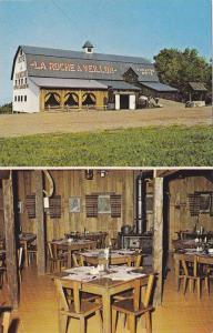 Exterior and Interior Restaurant View, La Roche a Veillon, Saint-Jean Port-Jo...