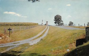 Antietam national battlefield, blood Elaine Sharpsburg, Maryland, USA Civil W...