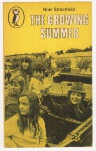 The Growing Summer Noel Streatfeild 1968 Puffin Book Postcard