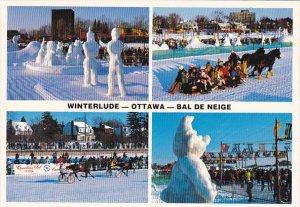 Canada Winterlude Bal de Neige Ottawa Ontario