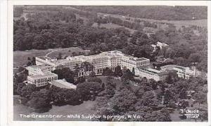 West Virginia White Sulphur Springs The Greenbrier Real Photo
