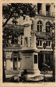 CPA PARIS Statue de Jules Simon. (563713)