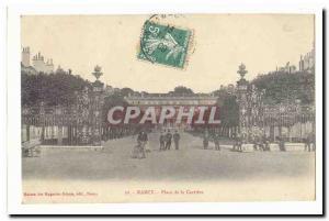 Nancy Old Postcard Place de la Carriere