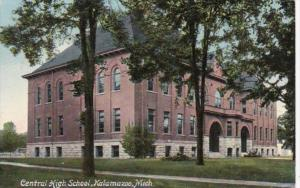 Michigan Kalamazoo Central High School 1911