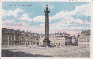 France Paris La colonne Vendome