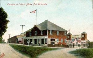 ME - Waterville. Central Maine Fair, Entrance