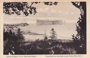 Rocher de Perce, Vu du Sea view House. Canada, Canada,PU-1939