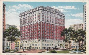 Detroit Detroit Hotel Tuller