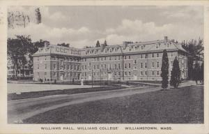 1923 - Williams Hall, Williams College, Williamstown, Mass.