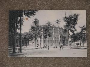 High School,  Johnstown, N.Y., unused vintage card