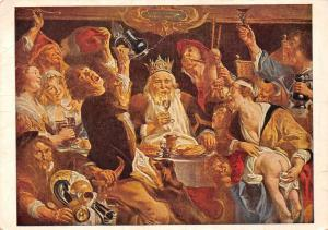 Jacob Jordaens De Koning Drinkt The King Drinks Le Roi Boit