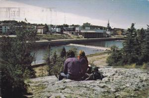 Alma and the Little-descharge, Saguenay, Quebec, Canada, 40-60s