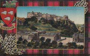 Robertson Tarton & Edinburgh Castle , Scotland , 00-10s