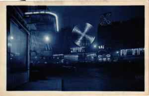 CPA Paris 18e Montmartre Le Moulin Rouge (284647)