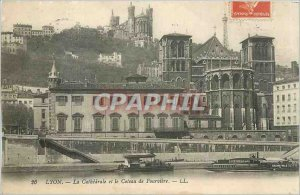 Old Postcard The Cath�drale Lyon and Fourviere-LL Knife