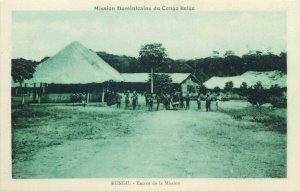 Belgian Congo Belge RUNGU entree de la mission