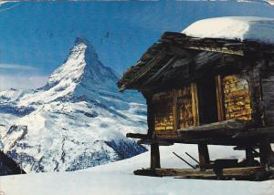 Switzerland Spycher bei Zermatt Matterhorn