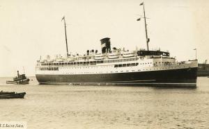 Canada - SS St John   *RPPC