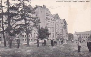 Massachusetts Springfield Dormitory Springfield College 1918