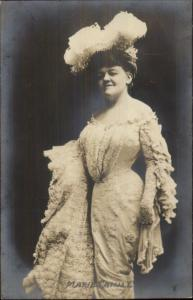 Vaudeville Actress Marie Cahill c1905 Real Photo Postcard