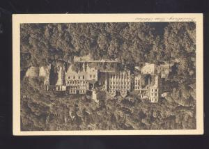 HEIDELBERG DAS SCHLOSS SCHOOL UNIVERSITY GERMANY ANTIQUE VINTAGE POSTCARD