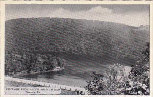 Pennsylvania Tionesta Reservoir From Access Road To Dam Dexter Press