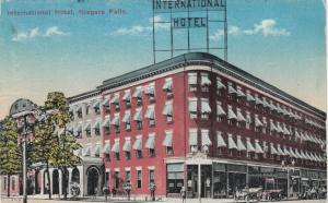 NIAGARA FALLS , Ontario , 1900-10s; International Hotel