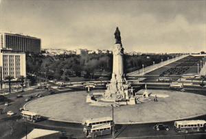 Marques de Pombal Square Lisboa Portugal