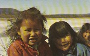 Alaska Smiling Eskimo Children