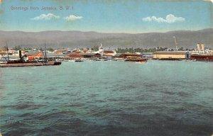 Jamaica, Jamaique Post card Old Vintage Antique Postcard Greetings From Jamai...